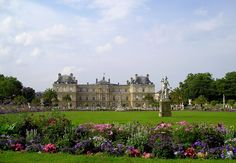 Luxembourg Gardens, Paris, France.