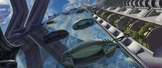 Concept art for Minority Report - Google Search