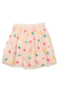 Sequin Tulle Skirt