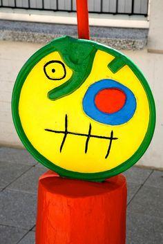 España, Barcelona, Montjuic : Fundación Joan Miró by (vincent desjardins), via Flickr
