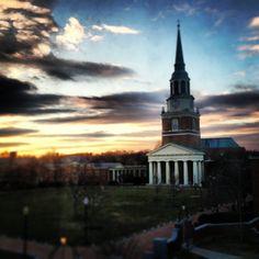 Wait Chapel @ Wake Forest University
