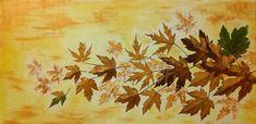 The Golden Autumn. Combined technique on canvas. Size x 25 cm. Canvas Size, My Arts, Autumn, Painting, Fall Season, Painting Art, Fall, Paintings, Painted Canvas