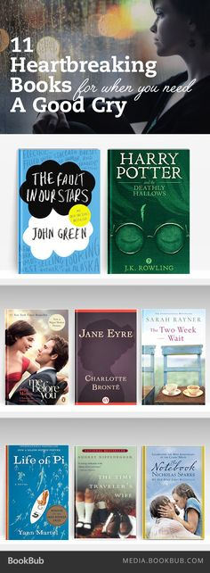 Heartbreaking read for when you need a good cry. Here are some gorgeously sad books for a rainy day in.