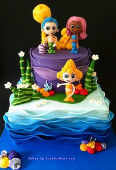 Bubble guppies by Cakes by Angela Morrison (6/30/2013) View details here: http://cakesdecor.com/cakes/70536