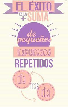 Llena esta nueva semana de esfuerzos y propósitos. #Frases #Lunes