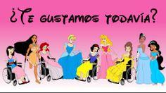 Heroínas de Disney discapacitadas para luchar contra la discriminación - BBC Mundo - Video y Fotos, Dibujo de Alexandro Palombo. ( Gracias Céline)