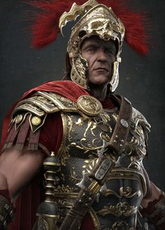 Centurion by Damon Woods | Realistic | 3D | CGSociety