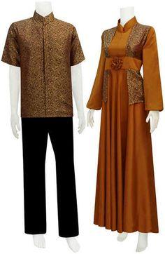 Sarimbit Batik Model Gamis Serat Nanas