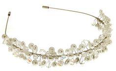 Pearl headband, perfect wedding hair accessory!