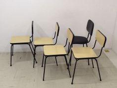 cadeiras vintage para Escola São Paulo.