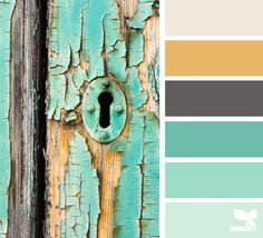 Weathered Hues - http://design-seeds.com/index.php/home/entry/weathered-hues1