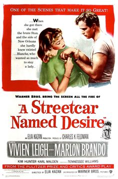 """Day 53: A film with a great quote in it. (Quote the quote). A Streetcar Named Desire (1951) """"Stella! Hey, Stella!"""""""
