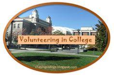 Chasing College: Volunteering  in College #communityservice #volunteering #college #campus