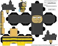 Cubee - Bumblebee Man '1of2' by CyberDrone.deviantart.com on @deviantART