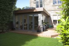 From modern extension ideas and glass boxes to oak frames and brick built additions, find inspiration with our pick of the best contemporary extension designs Extension Veranda, Orangery Extension, Glass Extension, Roof Extension, Garden Room Extensions, House Extensions, Kitchen Extensions, Extension Designs, Extension Ideas