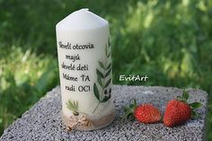 Evit.Art / Sviečka pre otecka Pillar Candles, Art, Craft Art, Kunst, Art Journaling, Taper Candles, Candles, Art Education, Artworks