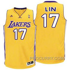 aa950a8886a Jeremy Lin Youth Los Angeles Lakers  17 Revolution 30 Swingman Gold Jersey