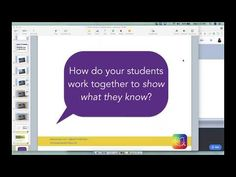 This webinar provided an overview of real-time collaboration in Book Creator for Chrome as well as strategies for collaborative classroom activities. Book Creator, The Creator, Student Work, Collaboration, Chrome, Books, Youtube, Libros, Book