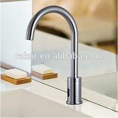 Brass Chromed Bathroom Automatic Wash Basin Sensor Faucet