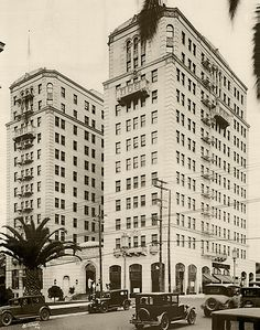 The Arcady Hotel on Wilshire at Rampart by aaprlore, via Flickr