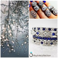 Our designer, Sylvie, finds inspiration in all of the things around her, like nature and the twinkle of the sunlight on a first frost. Say yes, and use your own inspirations to customize your ring with Sylvie. #sparkle #nature #mixedshapes #byawomanforawoman #sylviebrides #customizewithSylvie