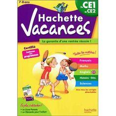 Hachette Vacances du CE1 au CE2, Cahier de vacances