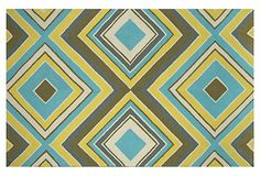 Calvin Outdoor Rug, Multi on OneKingsLane.com