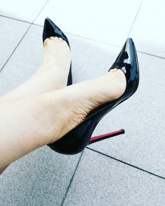 @louboutinworld Pigalle 120. Got them in 2010. Black patent, size 38.5