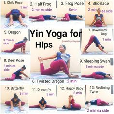 Yin Yoga Sequence for Hips Who all love yin? 🙋 My practice today was a wonder… Yin yoga sequence for hips Who all love yin? 🙋 My practice today was a wonderful 75 minutes . So I thought I'd share the … Yoga Fitness, Fitness Workouts, Fitness Motivation, Fitness Plan, Fitness Games, Fitness Watch, Physical Fitness, Fitness Tips, Health Fitness