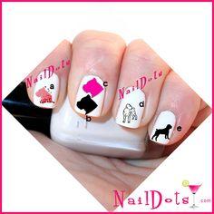 40 Auburn University of Alabama Nail Art Waterslide Nail Decals! Best Price on Etsy! Tiger Nail Art, Penguin Nail Art, Tiger Nails, Alabama Nail Art, Yankees Nails, Baseball Nails, Cute Nails, Pretty Nails, Fancy Nails
