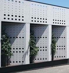 equitone perforated facade in australia