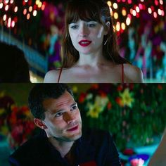 - Be mine. - Spend your life with me. -Yes. - Marry me. - I marry you. 'Fifty Shades Darker' ❤