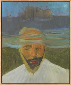 Peter Doig, Portrait (Under Water), Oil on canvas (2007).