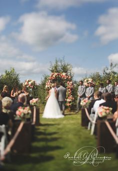 A Beautiful Navy And Peach Wedding At The Apple Orchard - Wedding Decor Toronto Rachel A. Wedding Pics, Wedding Events, Navy Peach Wedding, King City, Little Tykes, Wedding Decorations, Table Decorations, Apple Orchard, Young Love