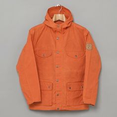 Fjallraven / Greenland Jacket - Pumpkin on oipolloi.com