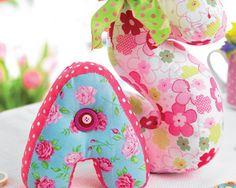 Stuffed Fabric Letters