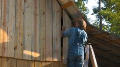 Old-fashioned Pole Barn, Pt 5 - Roof & Walls - The Farm Hand's Companion...