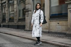 Street Style at Copenhagen Fashion Week - Gallery - Style.com