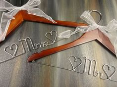 Mr and Mrs Hangers