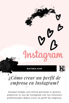 Aunque tengas una marca personal si quieres potenciar el uso de Instagram con tus intereses profesionales debes crear un perfil de empresa. Branding, Marca Personal, Closed Eyes, Marketing, Instagram, Movie Posters, Blog, Create, Profile