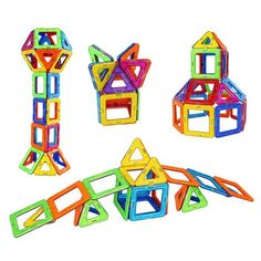 Magic Building Blocks can provide the building blocks of learning for your developing child, engage the imagination and start on a road of discovery! Magnetic Building Blocks, Building Toys, Pocket Game, Stem For Kids, Baby Supplies, Learning Letters, Learning Through Play, Love To Shop, Fine Motor Skills