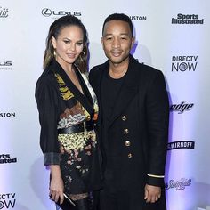 nice Chrissy Teigen & John Legend from The Big Picture: Today's Hot Photos Check more at http://newsposto.com/chrissy-teigen-john-legend-from-the-big-picture-todays-hot-photos/205706