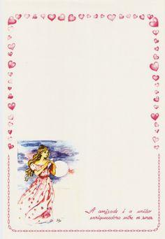 #papeldecarta #letterpaper #lettersheet #vintage #amizade