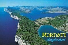 Horvátországi hajókirándulás a Kornati - szigetcsoport felfedezésére, amely 90 kisebb szigetecskéből áll...  #hajókirándulás#Horvátország