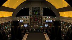 Eagle Cockpit Interior - Space 1999 Eagle Transporter Forum