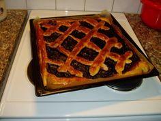 Vanhanajan mustikkapiirakka pullapohjalla - oldfashioned blueberry pie on bun dough (sweet yeast dough) Frozen Cheesecake, No Bake Desserts, Cheesecakes, Tart, Blueberry, Waffles, Baking, Breakfast, Sweet
