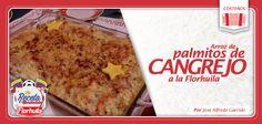 Palmitos de cangrejo, una gran receta que representa lo mejor del sabor colombiano.