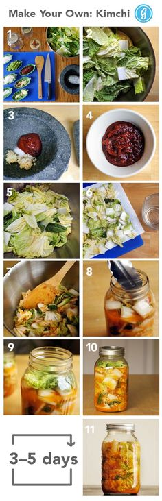 How to Make Your Own Kimchi #diy #kimchi #hack