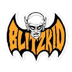 Blitzkid- BLITZBAT ORANGE Sticker - 5.5x5.5