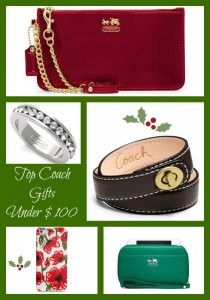 Top Coach Gifts Under $ 100
